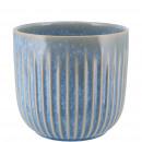 Keramik Kübel Susi, D7cm, H6cm, für TO6, hellblau